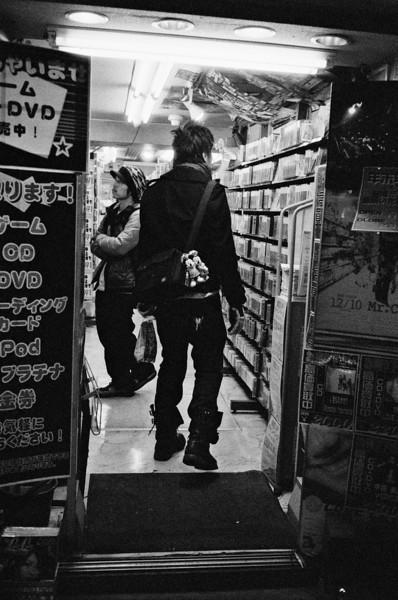 Tokyo, Kabuki-chou <br /> December 2008 <br /> <br /> Ilford Delta 3200, R2M