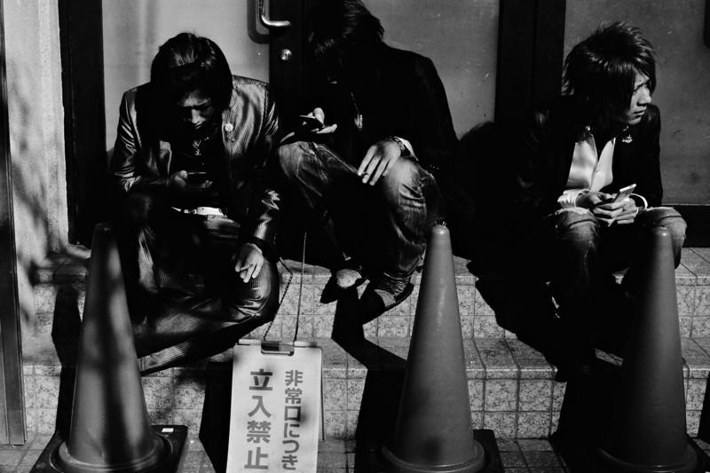 Tokyo, Kabuki-chou <br /> December 2008 <br /> <br /> Ilford FP4 Plus 125, iiif