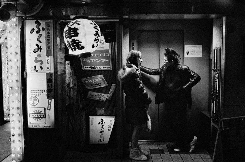 Tokyo, Kabuki-chou <br /> December 2008<br /> <br /> Ilford Delta 3200, R2M