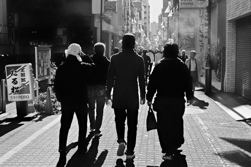 Tokyo, Ueno <br /> January 2009 <br /> <br /> Tri-X 400, FM2