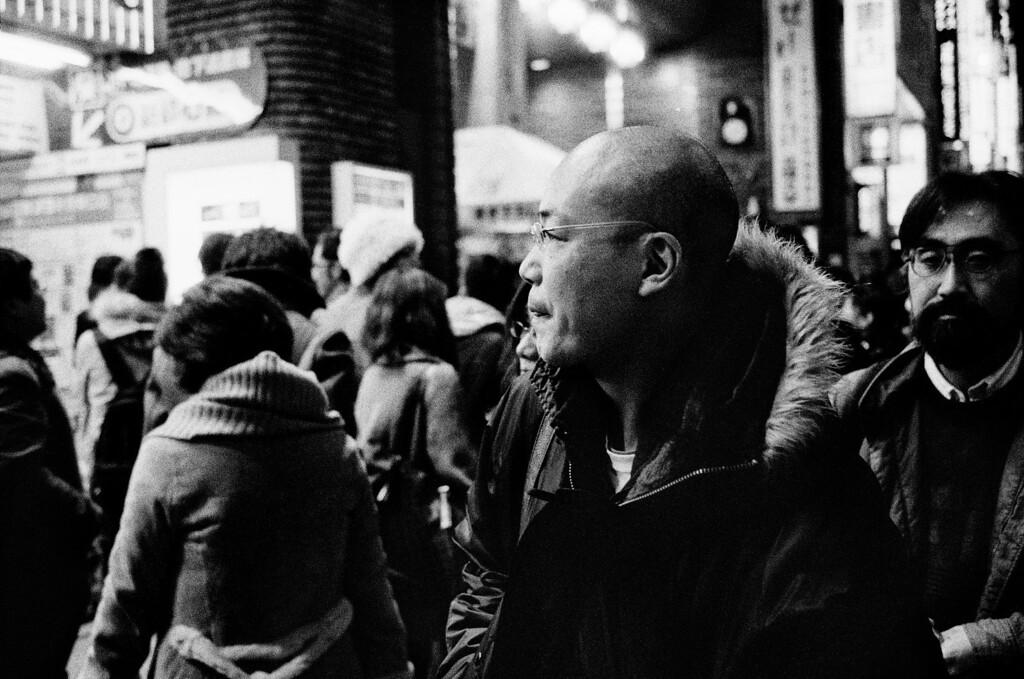 Tokyo, Shinjuku <br /> January 2009 <br /> <br /> Ilford Delta 3200, R2M
