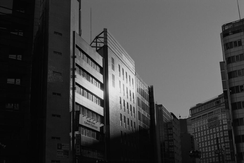 Tokyo, Shinjuku <br /> January 2009 Ilford <br /> <br /> Delta 100, 7NE