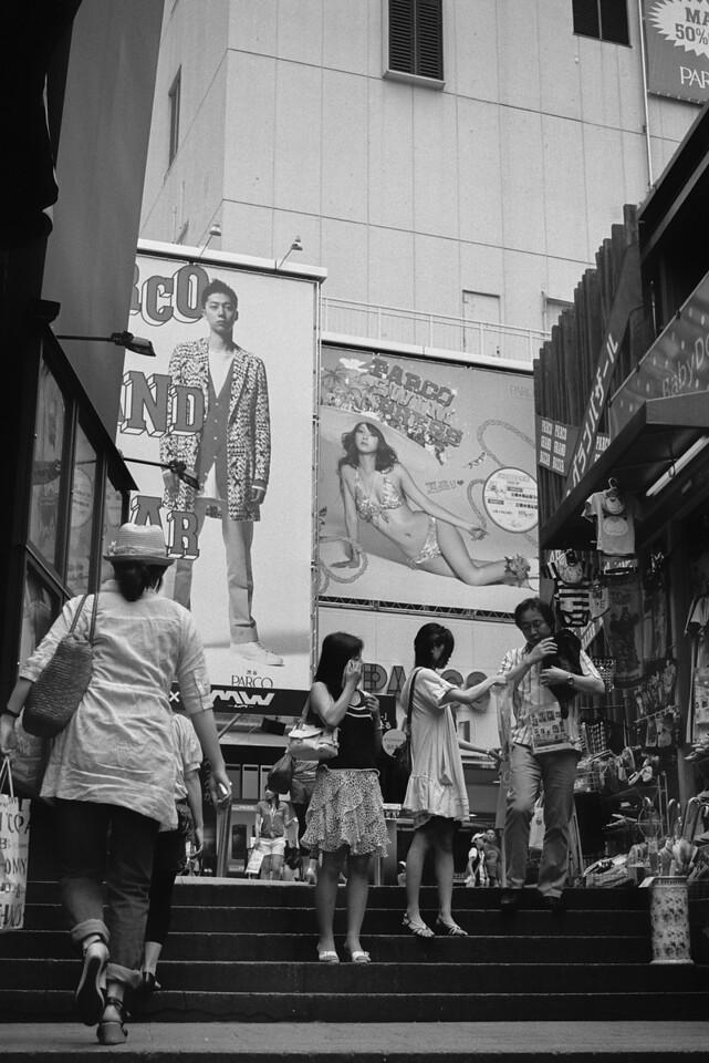 Tokyo, Shibuya July 2009 Tri-X 400, iiif