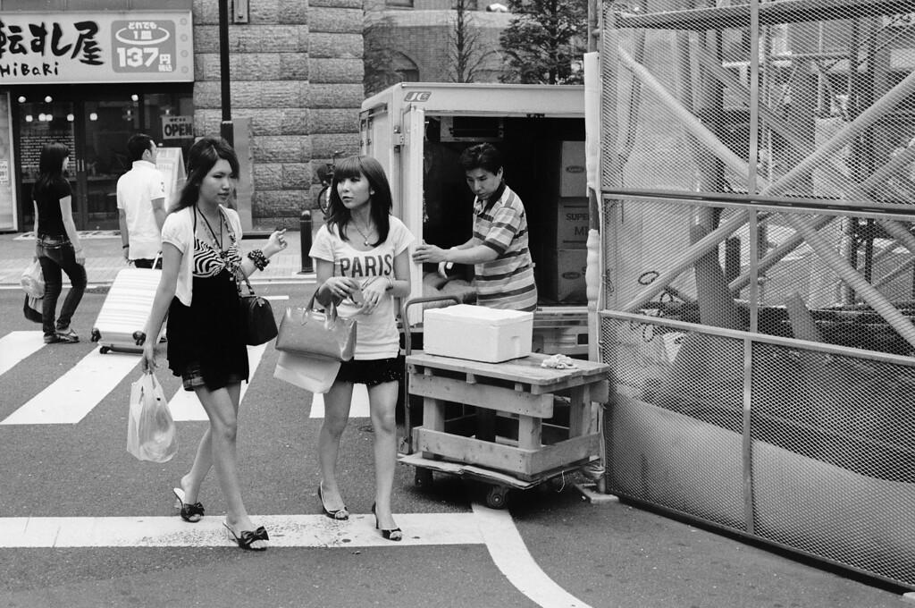Tokyo, Shinjuku July 2009 Tri-X 800, FM2