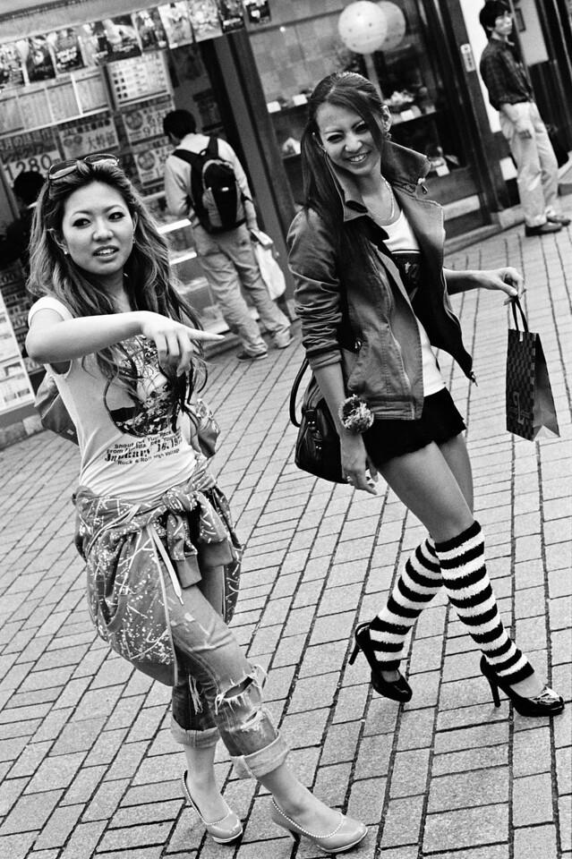 Tokyo, Shinjuku <br /> April 2009 <br /> <br /> Tri-X 800, FM2