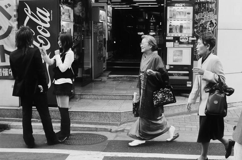 Tokyo, Kabuki-chou <br /> April 2009 <br /> <br /> Tri-X 400, 7NE