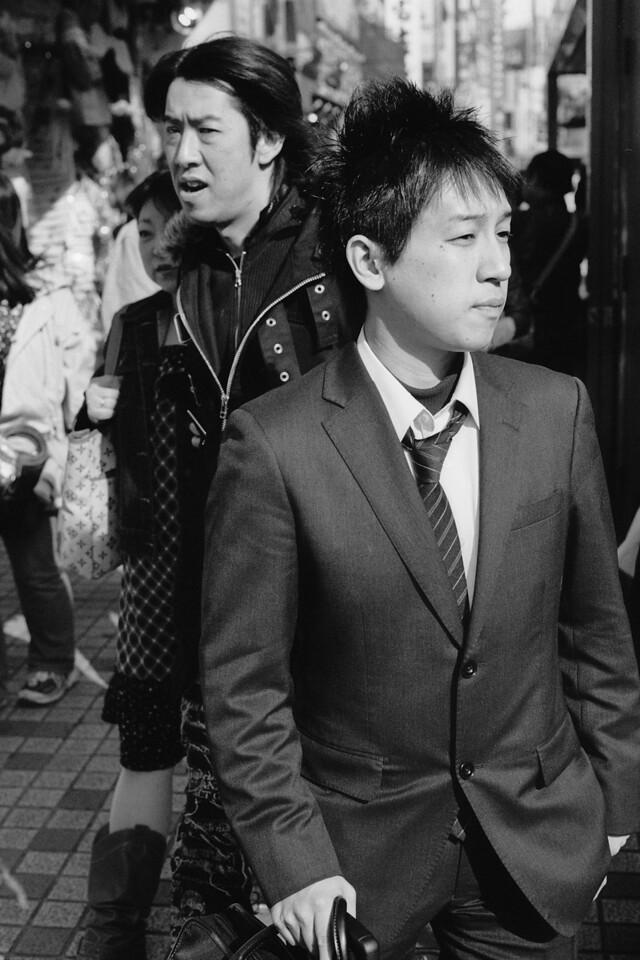 Tokyo, Kabuki-chou <br /> April 2009 <br /> <br /> Tri-X 800, FM2