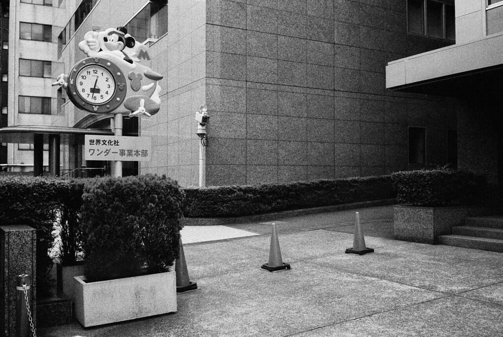 Tokyo, Chiyoda-ku <br /> May 2009 <br /> <br /> Ilford Delta 3200 (1600), R2M