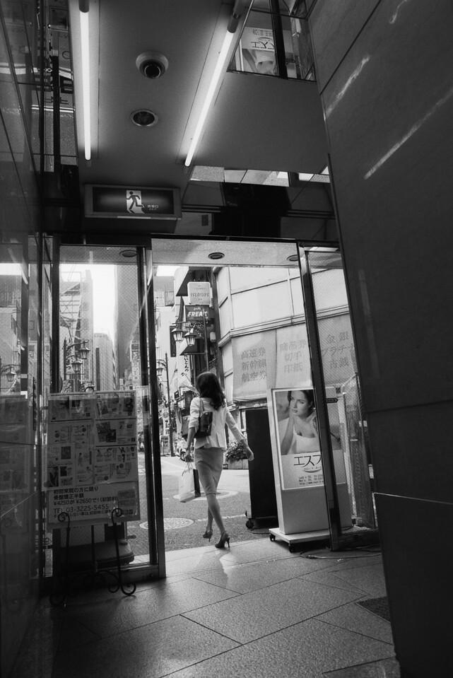Tokyo, Shinjuku <br /> June 2009 <br /> <br /> Ilford FP4 Plus 125, 7NE