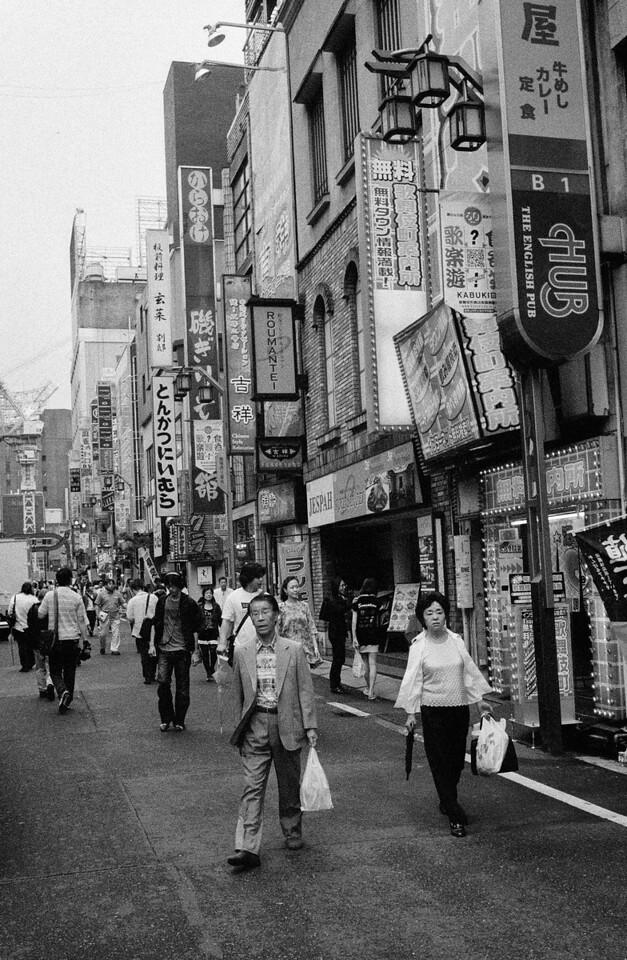 Tokyo, Kabuki-chou <br /> May 2009 <br /> <br /> Ilford Delta 3200 (1600), R2M