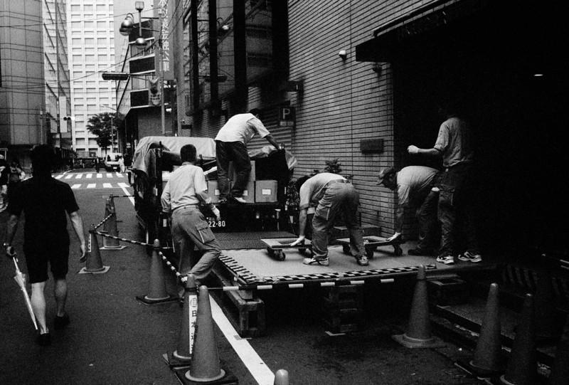 Tokyo, Nishi-Shinjuku <br /> May 2009 Ilford <br /> <br /> Delta 3200 (1600), R2M