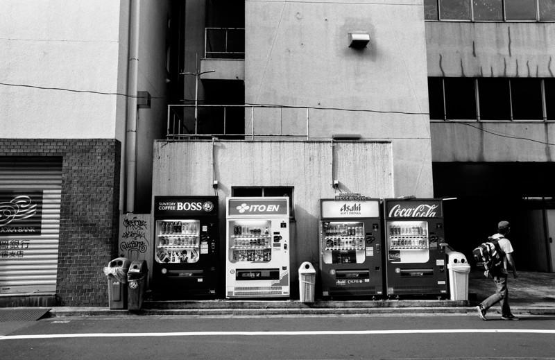 Tokyo, Shinjuku <br /> May 2009 <br /> <br /> Ilford FP4 Plus 125, 7NE
