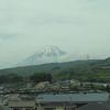 Mt. Fuji, as seen from Nozomi 227, Tokyo-Kyoto.