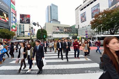 Shibuya Crossing Tokyo Japan