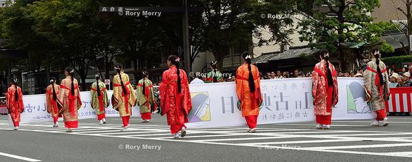 Jidai Matsuri (時代祭り  Jidai Matsuri (時代祭り  Festival of the ages