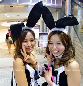 Tourist on Tokyo Metro
