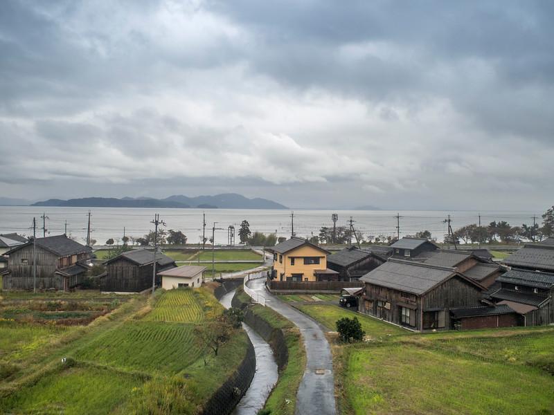 Train from Kanazawa to Kyoto, Japan
