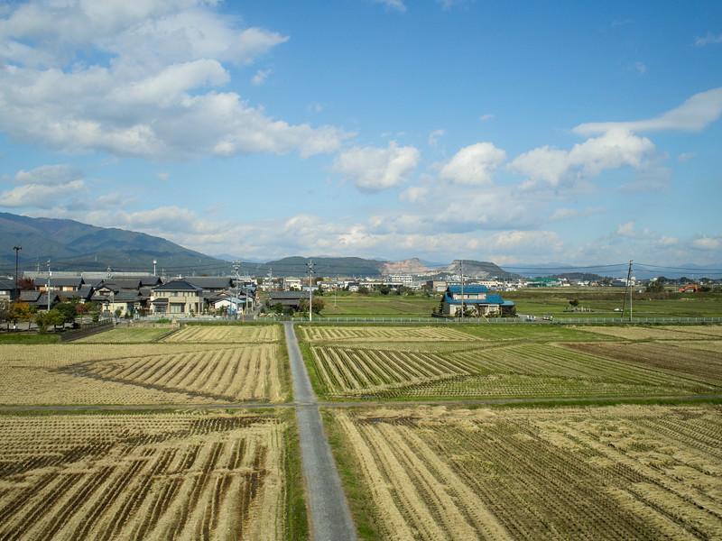 Train from Kyoto to Hakone, Japan