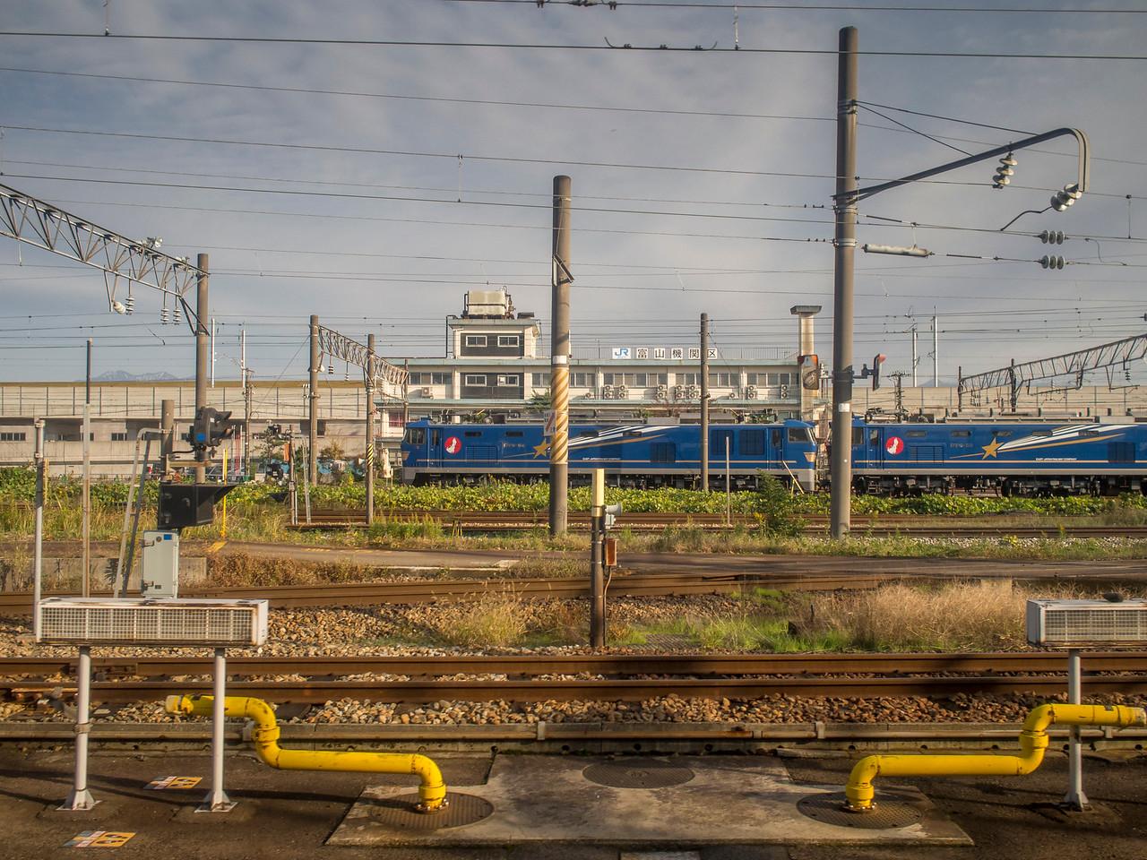 Train from Tokyo to Kanazawa