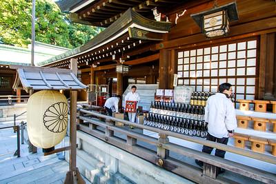 Meiji Jingu shrine, Harajuku