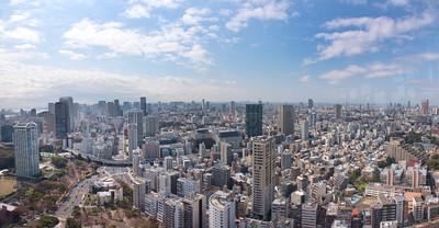 Panorama _Tokyo Tower view-