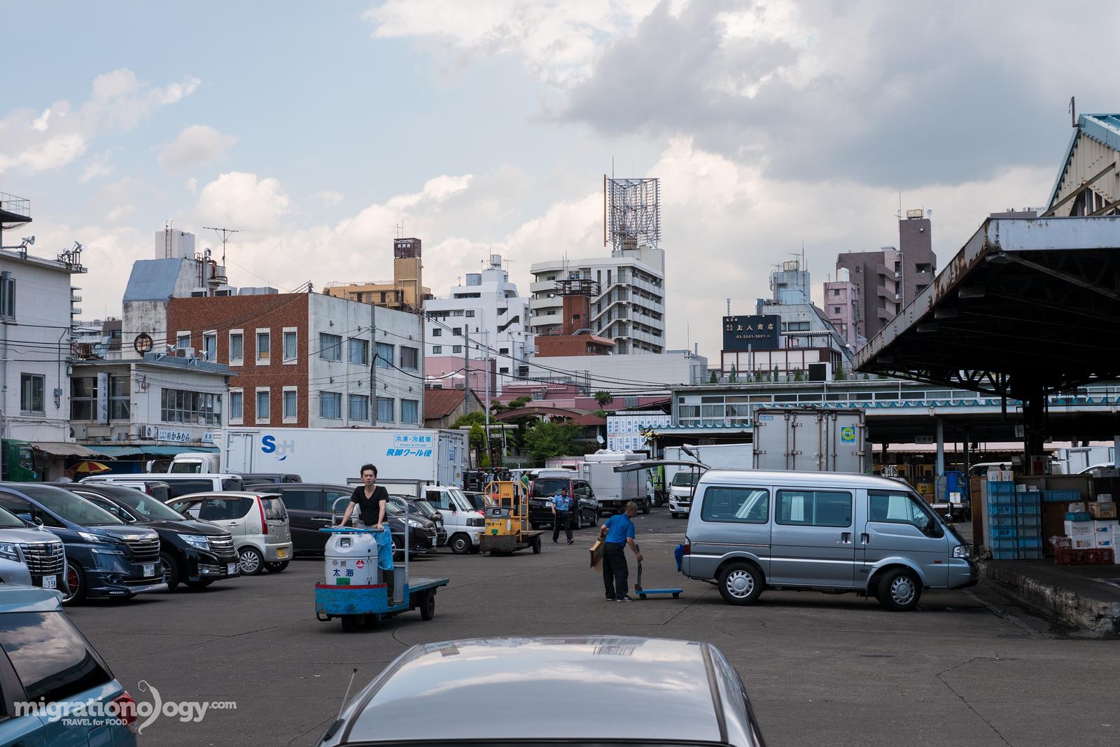 Tokyo's Tsukiji Market