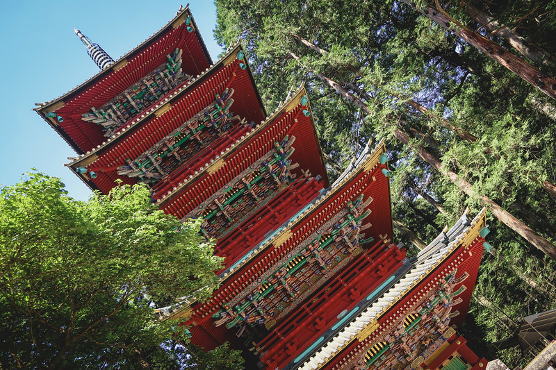 Nikko is renowned for its shrines and temples - some of which are UNESCO World Heritage Sites.