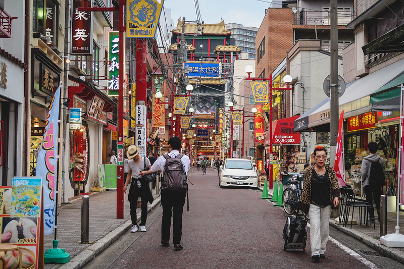 Yokohama Chinatown is a great day trip for anyone looking to sample street food.