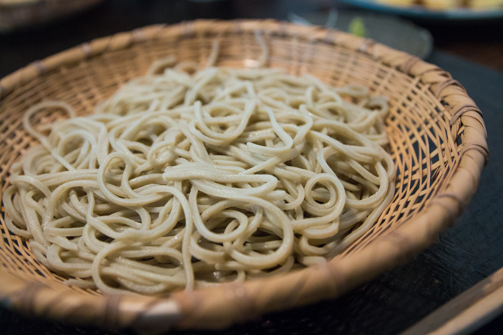 100% buckwheat noodles