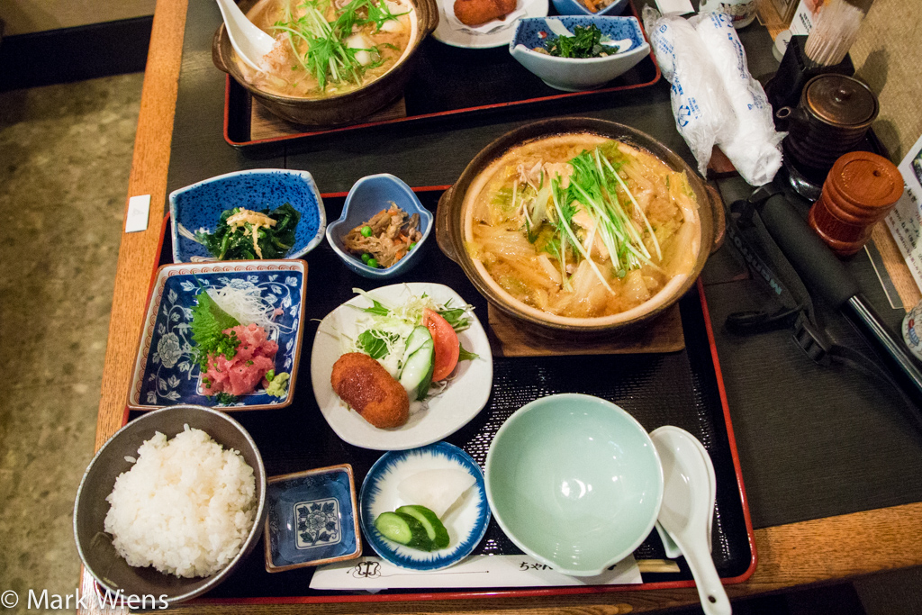 sumo food in Japan