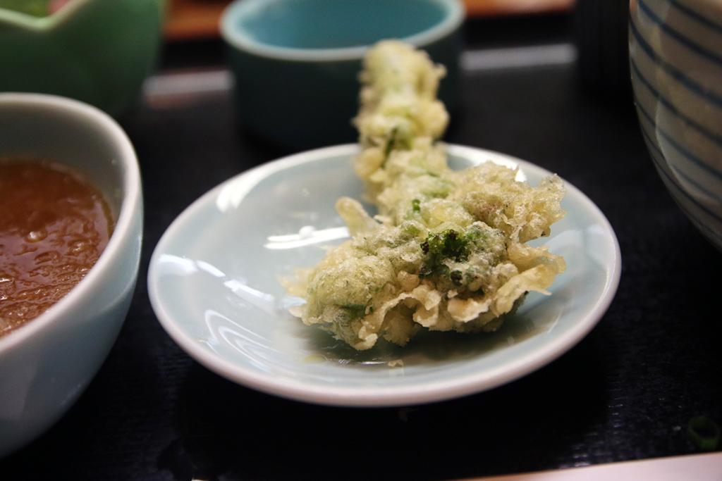 Broccoli tempura