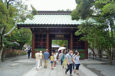 Entry to Kamakura Shrine