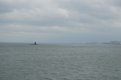 US Nuclear Sub pays a Visit