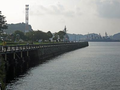 Quay Wall of Verny Park