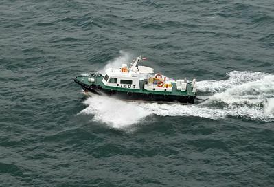 Pilot Boat for Run thru the Straits