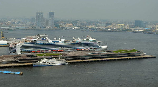 Diamond Princess at Yokohama