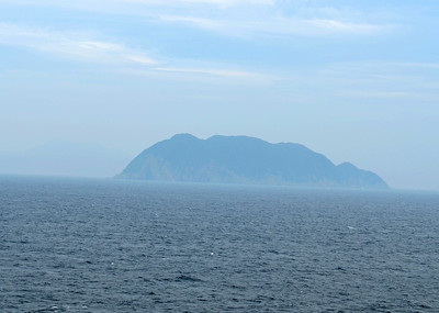 First View of Islands near Shimoniseki, Japan