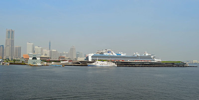 Yokohama Cruise Terminal is Unique