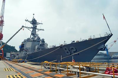 USS Lassen, DDG-82, an Arleigh Burke Class Destroyer