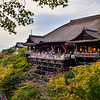 The Kiyomizudera Temple in Early Fall