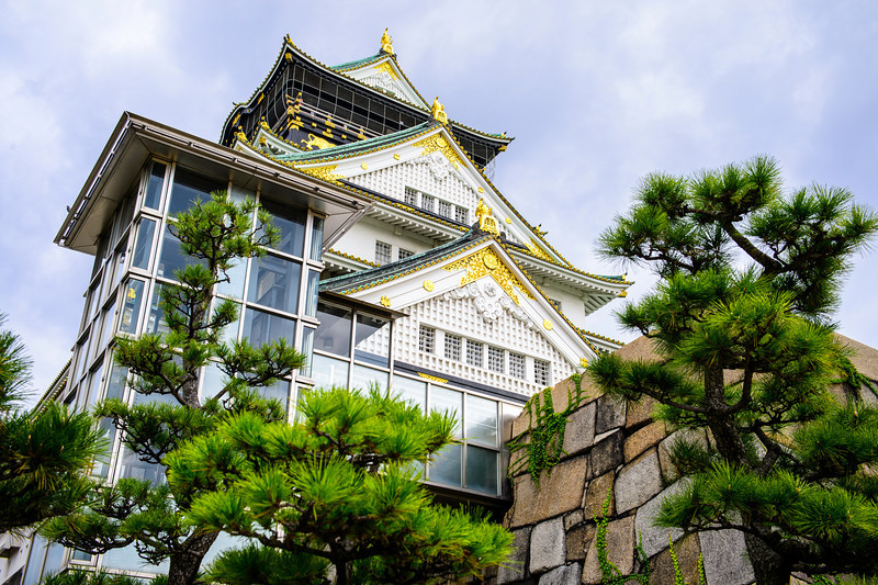 Post-modernisation of the Osaka Castle
