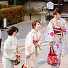 Girls In Their Summer Kimonos (Yukata)