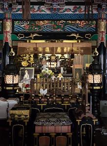 Buddist temple altar