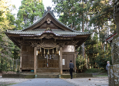Upper shrine at Aoyama Fudo Son