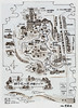 A delightful plan of Hogon-in temple gardens, handed to us with our entrance ticket