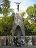 """Memorial to <a href=""""http://en.wikipedia.org/wiki/Sadako_Sasaki"""" target=""""_blank"""">Sadako Sasaki</a> (1943-1955) who died of leukaemia ten years after the blast, and to all children affected by the bomb. Sadako is known for trying to fold 1,000 origami cranes before she died so that she might be granted her wish to live."""