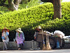 Women gardeners (possibly volunteers) in the Park