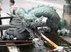 A particularly splendid dragon fountain