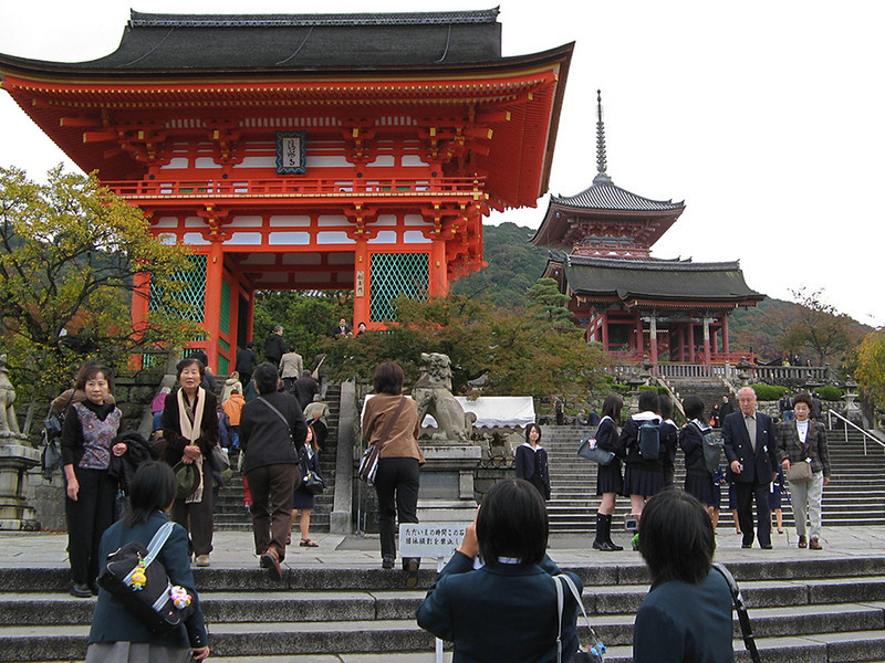 The Red Gate and the Three Storied Pagoda