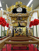 "On display in Himeji station was one of the ornately decorated floats from the annual festival of the fighting shrines. See the <a href=""http://www.jnto.go.jp/eng/indepth/history/traditionalevents/a56_fes_nada.html"" target=""_blank"">JNTO website</a> for more information"